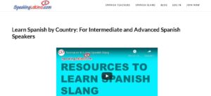 Speaking Latino is an essential platform for learning the pronunciation of the language