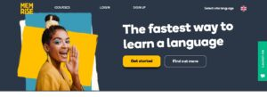 Memrise - free platforms to learn Spanish