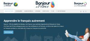 Bonjour de France - cursos de francés gratis