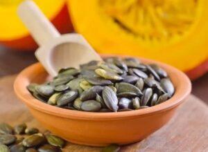 Semillas de calabaza como remedio para la próstata