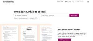 Simplyhired - Trabajar en Estados Unidos