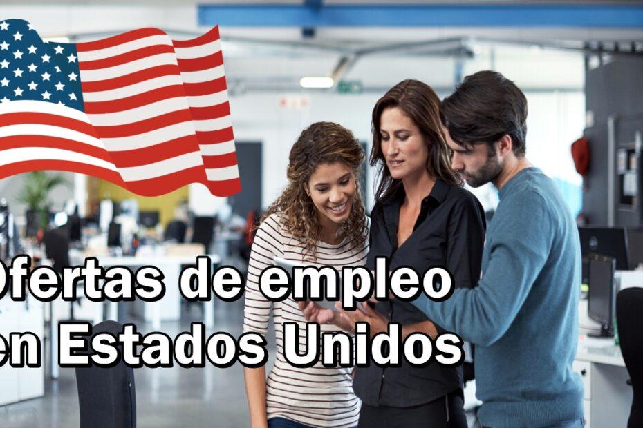 trabajar en Estados Unidos