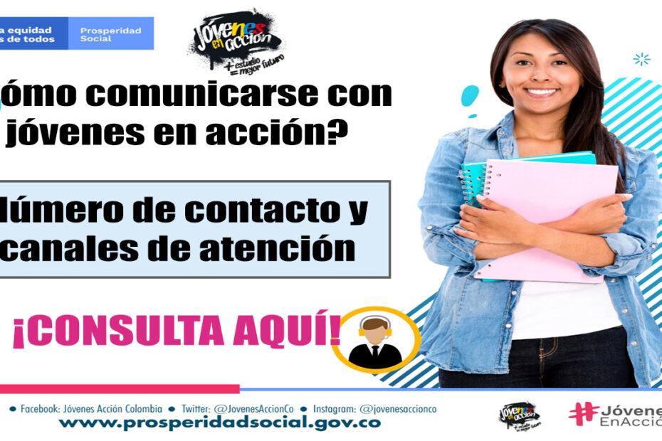 Número de contacto para jóvenes en acción