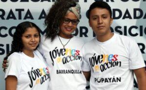 ¿Cuál es el número de contacto para Jóvenes en Acción?