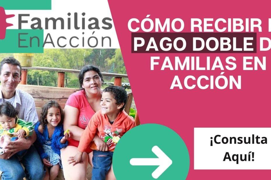 Pago de familias en acción