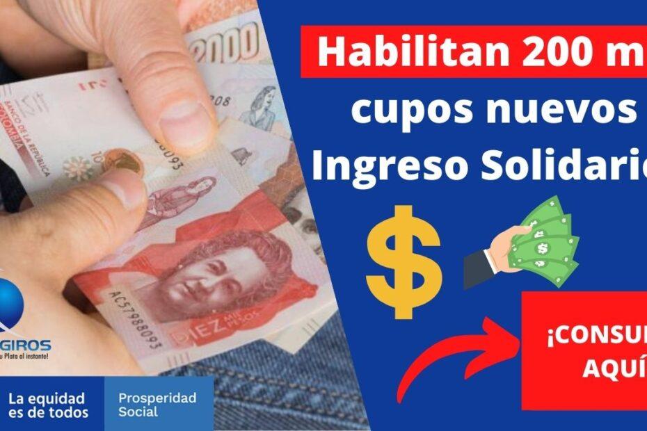 Pago de ingreso Solidario Permanente